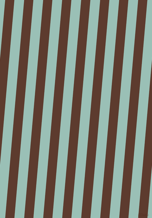 85 degree angle lines stripes, 32 pixel line width, 34 pixel line spacing, Cioccolato and Shadow Green stripes and lines seamless tileable
