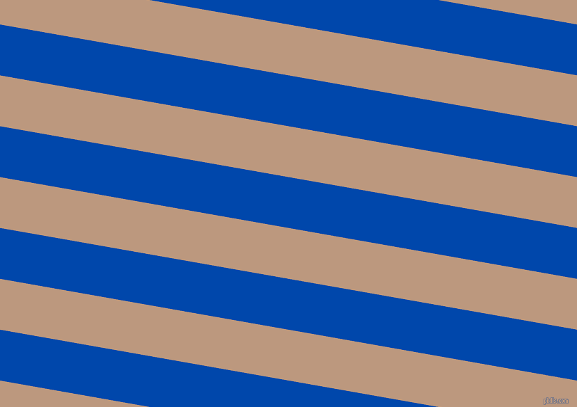 170 degree angle lines stripes, 72 pixel line width, 72 pixel line spacing, Cobalt and Pale Taupe stripes and lines seamless tileable