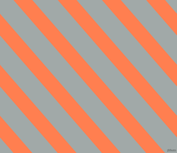 131 degree angle lines stripes, 58 pixel line width, 78 pixel line spacing, Coral and Hit Grey stripes and lines seamless tileable