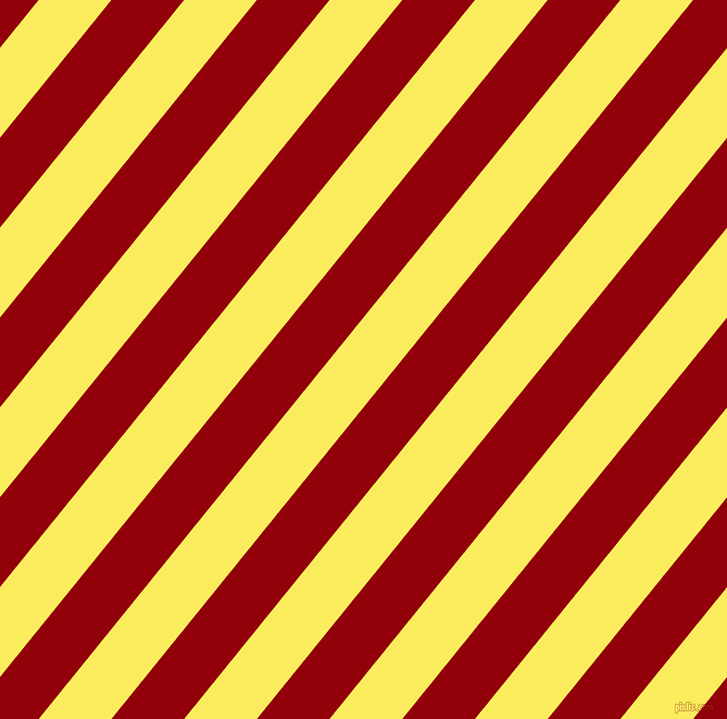51 degree angle lines stripes, 52 pixel line width, 52 pixel line spacing, Corn and Sangria stripes and lines seamless tileable