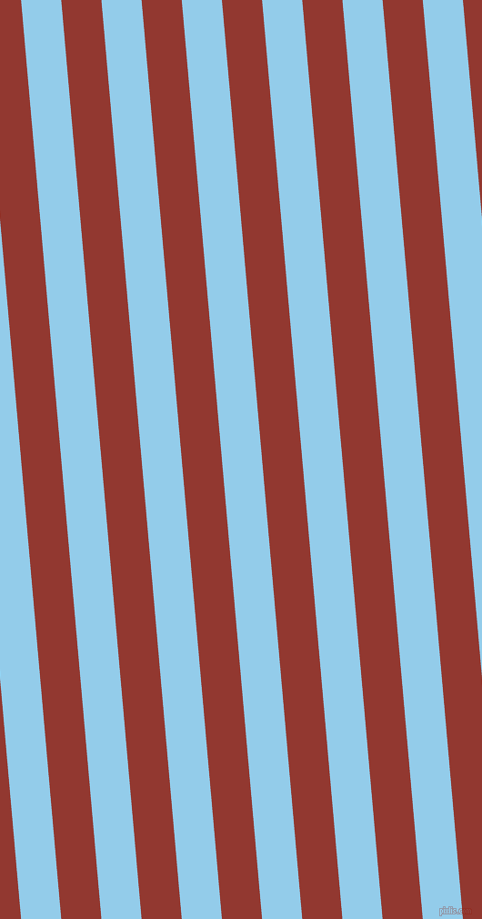 95 degree angle lines stripes, 44 pixel line width, 44 pixel line spacing, Cornflower and Thunderbird stripes and lines seamless tileable