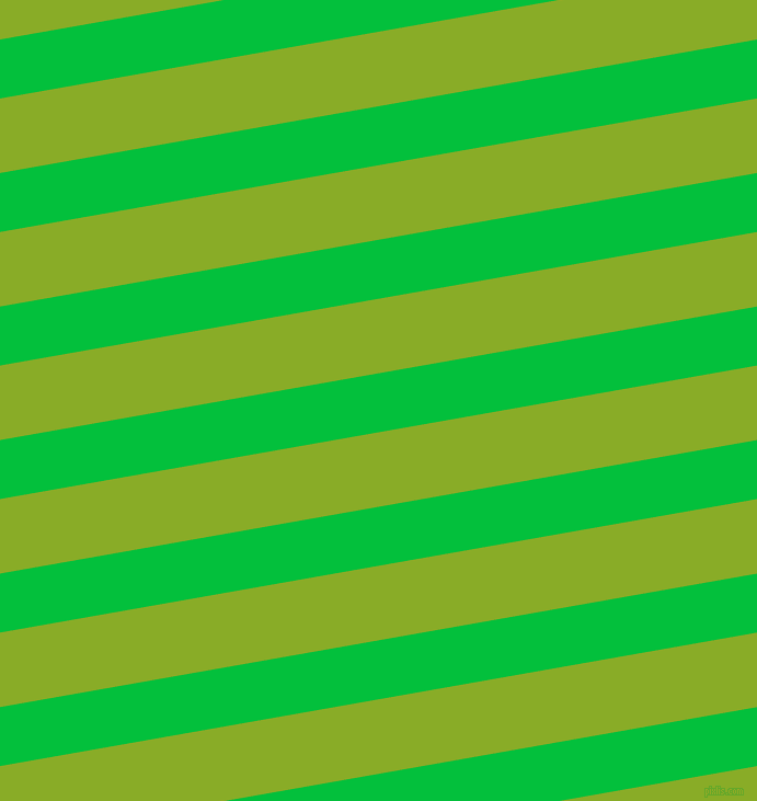 10 degree angle lines stripes, 53 pixel line width, 67 pixel line spacing, Dark Pastel Green and Limerick stripes and lines seamless tileable