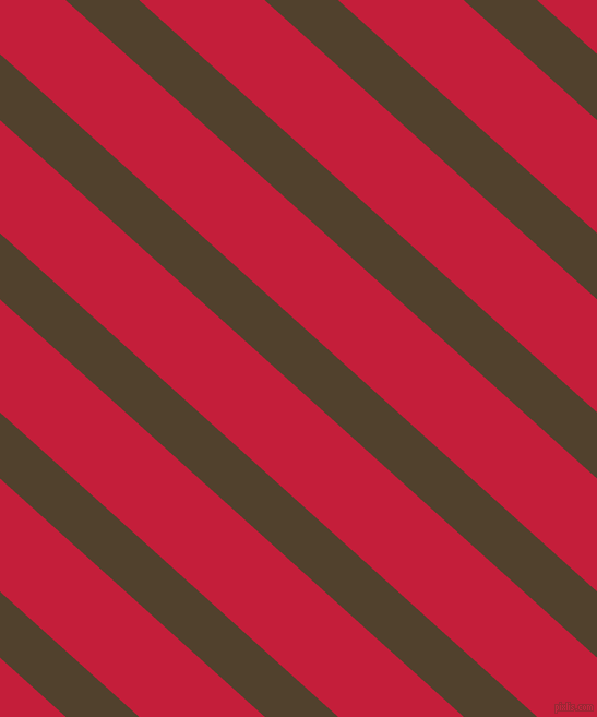 138 degree angle lines stripes, 45 pixel line width, 77 pixel line spacing, Deep Bronze and Cardinal stripes and lines seamless tileable