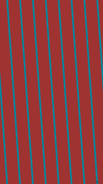 94 degree angle lines stripes, 6 pixel line width, 39 pixel line spacing, Eastern Blue and Milano Red stripes and lines seamless tileable