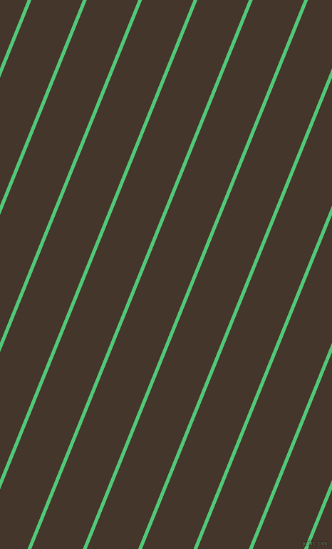 68 degree angle lines stripes, 5 pixel line width, 67 pixel line spacing, Emerald and Dark Rum stripes and lines seamless tileable