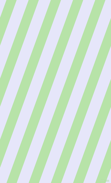 70 degree angle lines stripes, 40 pixel line width, 47 pixel line spacing, Madang and Lavender stripes and lines seamless tileable