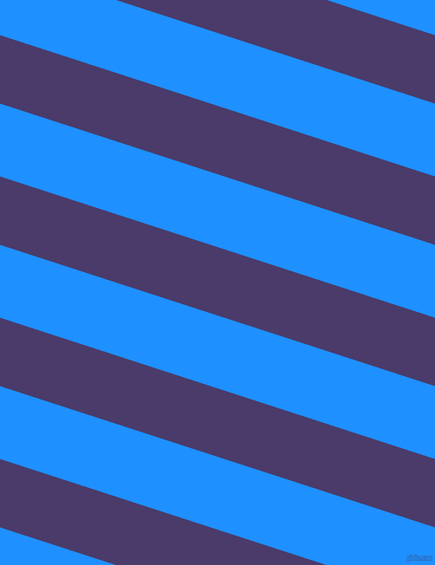 162 degree angle lines stripes, 92 pixel line width, 98 pixel line spacing, Meteorite and Dodger Blue stripes and lines seamless tileable