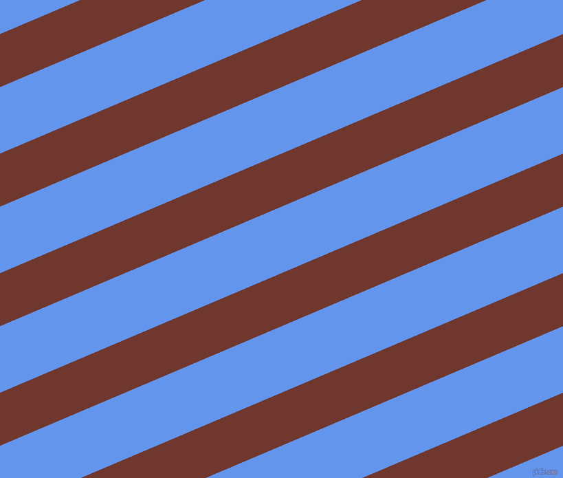 23 degree angle lines stripes, 71 pixel line width, 89 pixel line spacing, Mocha and Cornflower Blue stripes and lines seamless tileable