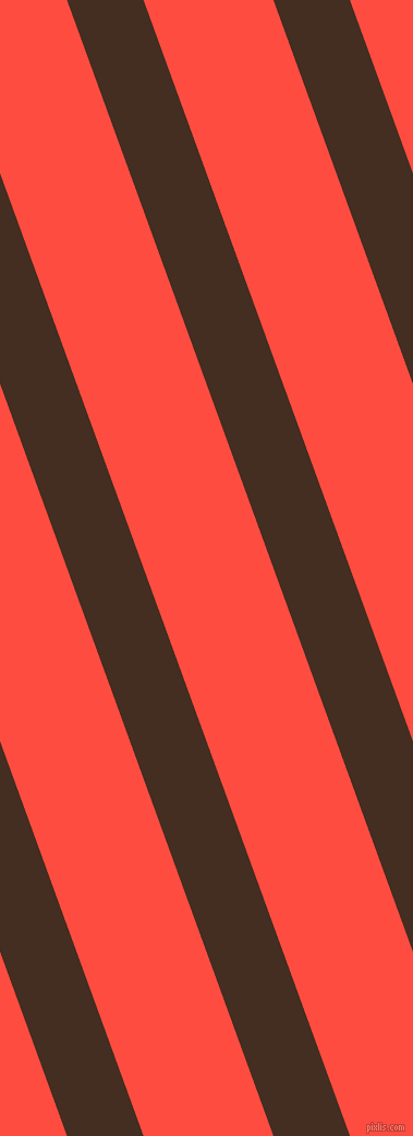 110 degree angle lines stripes, 66 pixel line width, 112 pixel line spacing, Morocco Brown and Sunset Orange stripes and lines seamless tileable