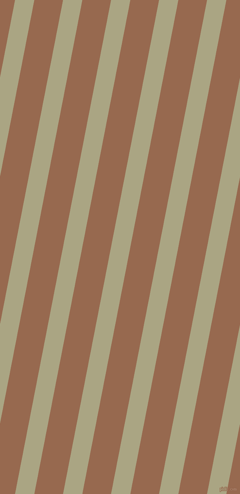 79 degree angle lines stripes, 39 pixel line width, 58 pixel line spacing, Neutral Green and Dark Tan stripes and lines seamless tileable