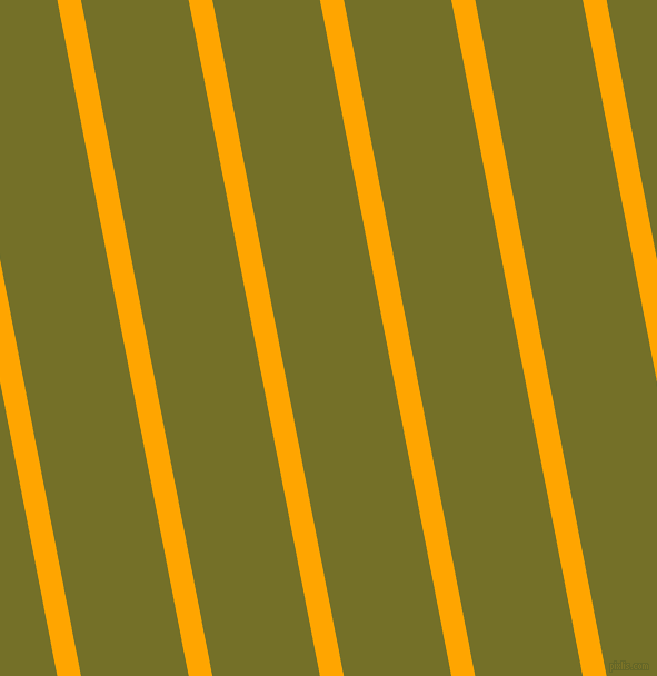 101 degree angle lines stripes, 21 pixel line width, 95 pixel line spacing, Orange and Olivetone stripes and lines seamless tileable