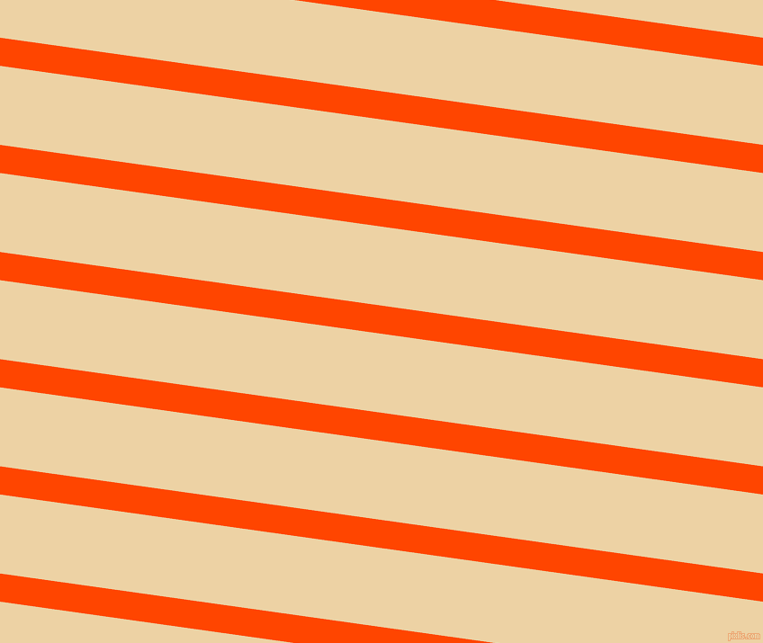 172 degree angle lines stripes, 31 pixel line width, 87 pixel line spacing, Orange Red and Dairy Cream stripes and lines seamless tileable