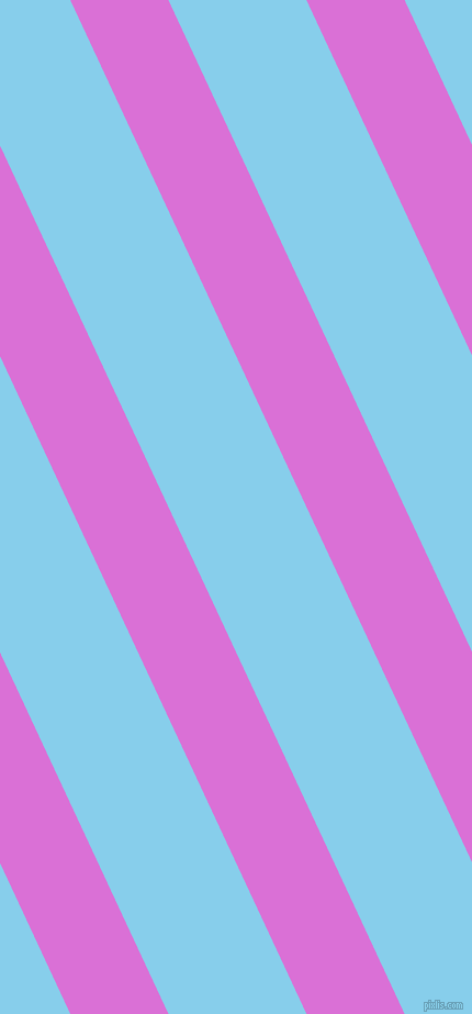115 degree angle lines stripes, 81 pixel line width, 114 pixel line spacing, Orchid and Sky Blue stripes and lines seamless tileable
