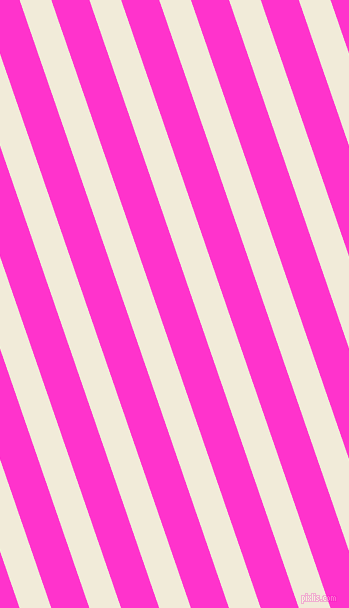 109 degree angle lines stripes, 30 pixel line width, 36 pixel line spacing, Orchid White and Razzle Dazzle Rose stripes and lines seamless tileable