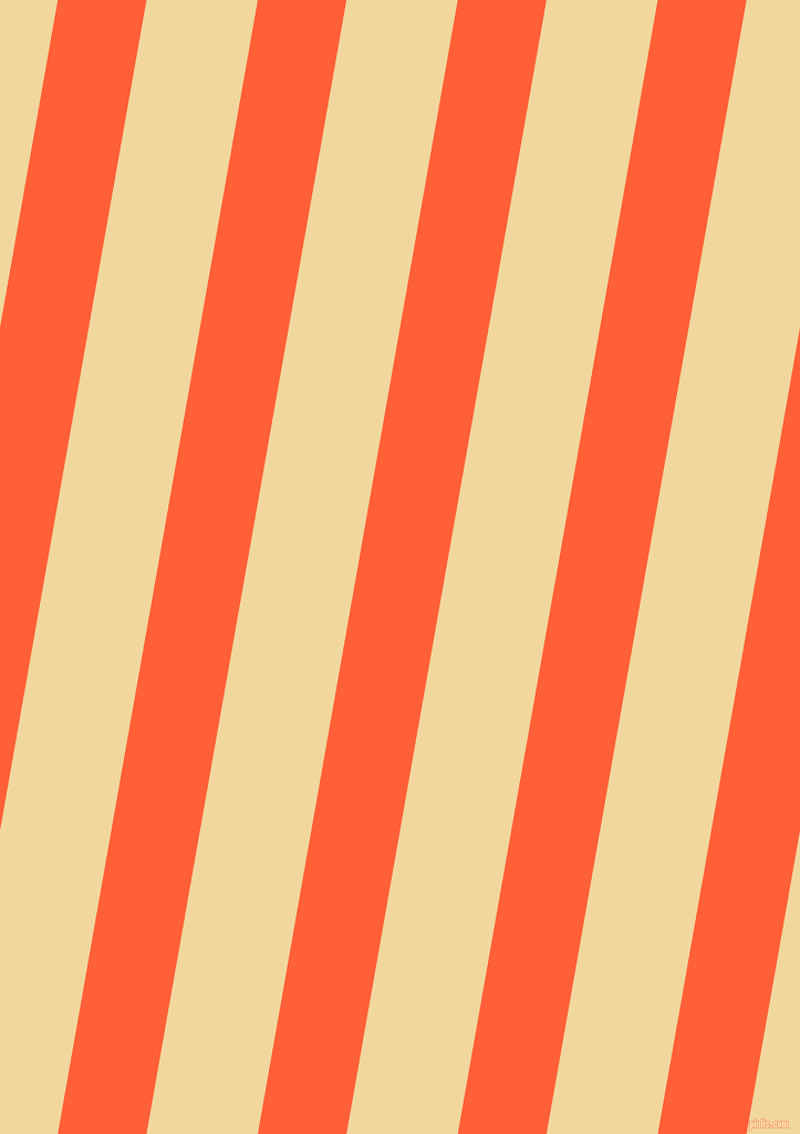 80 degree angle lines stripes, 79 pixel line width, 99 pixel line spacing, Outrageous Orange and Splash stripes and lines seamless tileable