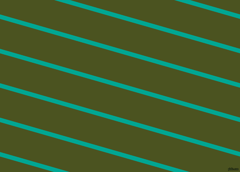 164 degree angle lines stripes, 15 pixel line width, 99 pixel line spacing, Persian Green and Army green stripes and lines seamless tileable