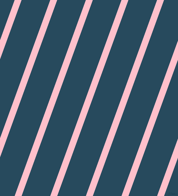 70 degree angle lines stripes, 27 pixel line width, 111 pixel line spacing, Pink and Arapawa stripes and lines seamless tileable