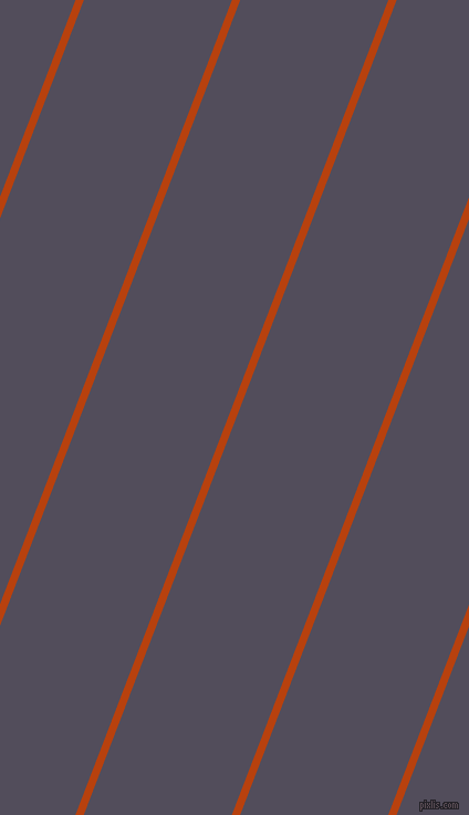 69 degree angle lines stripes, 7 pixel line width, 125 pixel line spacing, Rust and Mulled Wine stripes and lines seamless tileable