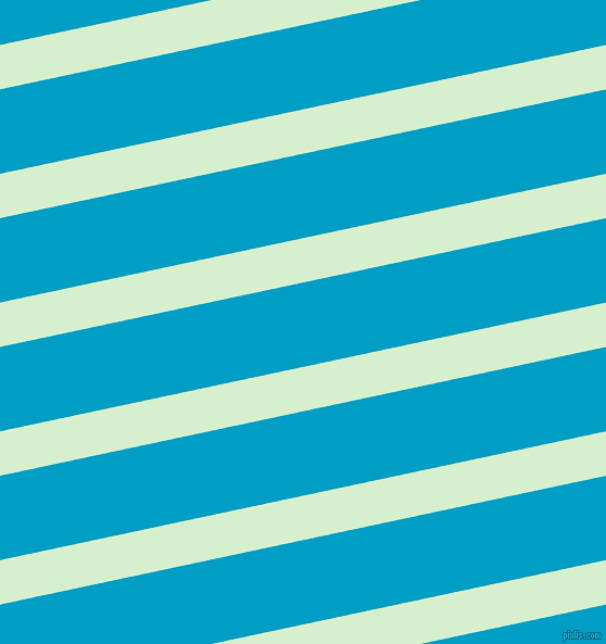 12 degree angle lines stripes, 40 pixel line width, 76 pixel line spacing, Snowy Mint and Pacific Blue stripes and lines seamless tileable