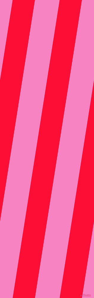 81 degree angle lines stripes, 74 pixel line width, 82 pixel line spacingTorch Red and Tea Rose stripes and lines seamless tileable