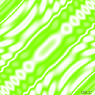 Chartreuse and White wavy plasma ripple seamless tileable