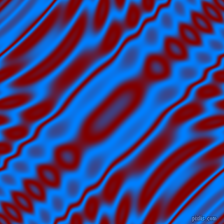 Dodger Blue and Maroon wavy plasma ripple seamless tileable