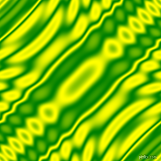 , Green and Yellow wavy plasma ripple seamless tileable