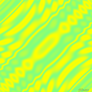 , Mint Green and Yellow wavy plasma ripple seamless tileable