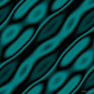 , Black and Teal wavy plasma seamless tileable